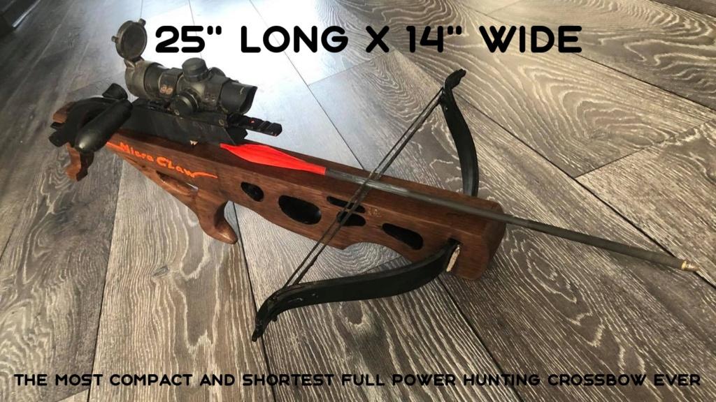 Claw crossbow prototype 7tb0g111