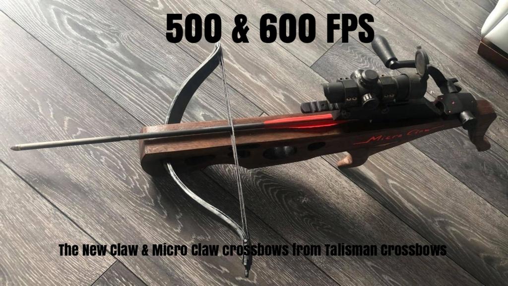Claw crossbow prototype Remxe110