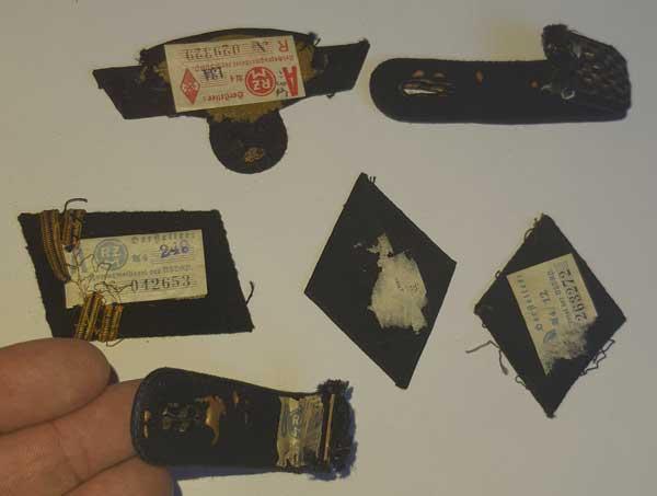 Souvenirs de guerre 2eme DB : Insignes allemands NSKK et Vichy Clot_i13