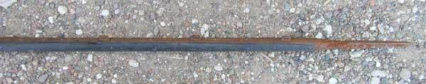 info, estimation d'une lance de cavalerie et d'un périscope pliant Lot_bo12