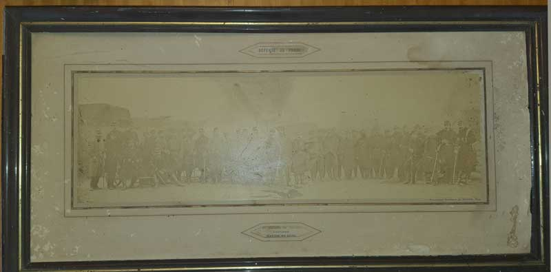 Il y a 150 ans : La défense de Paris, photo Disdéri du 2ème régiment de marche Photo_11