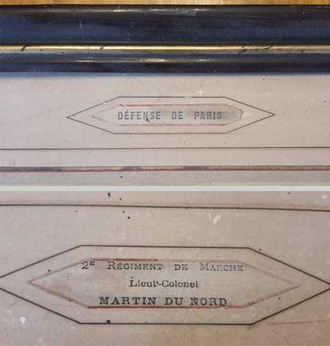 Il y a 150 ans : La défense de Paris, photo Disdéri du 2ème régiment de marche Photo_12