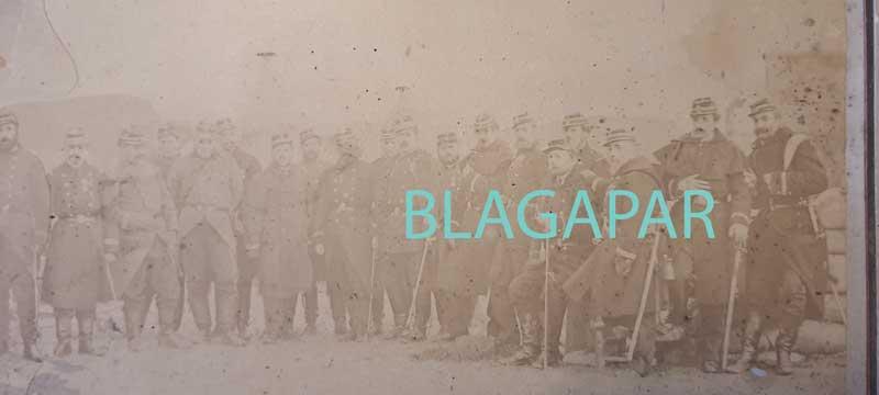 Il y a 150 ans : La défense de Paris, photo Disdéri du 2ème régiment de marche Photo_15