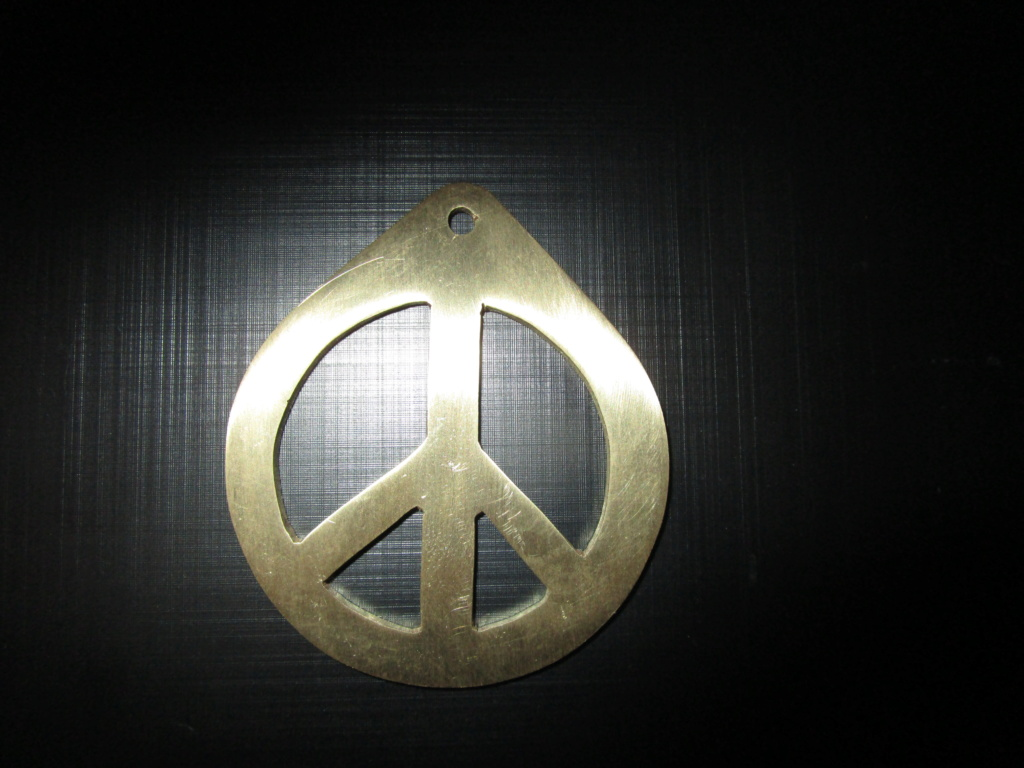 Peace and love en laiton 2 mm Peace_15