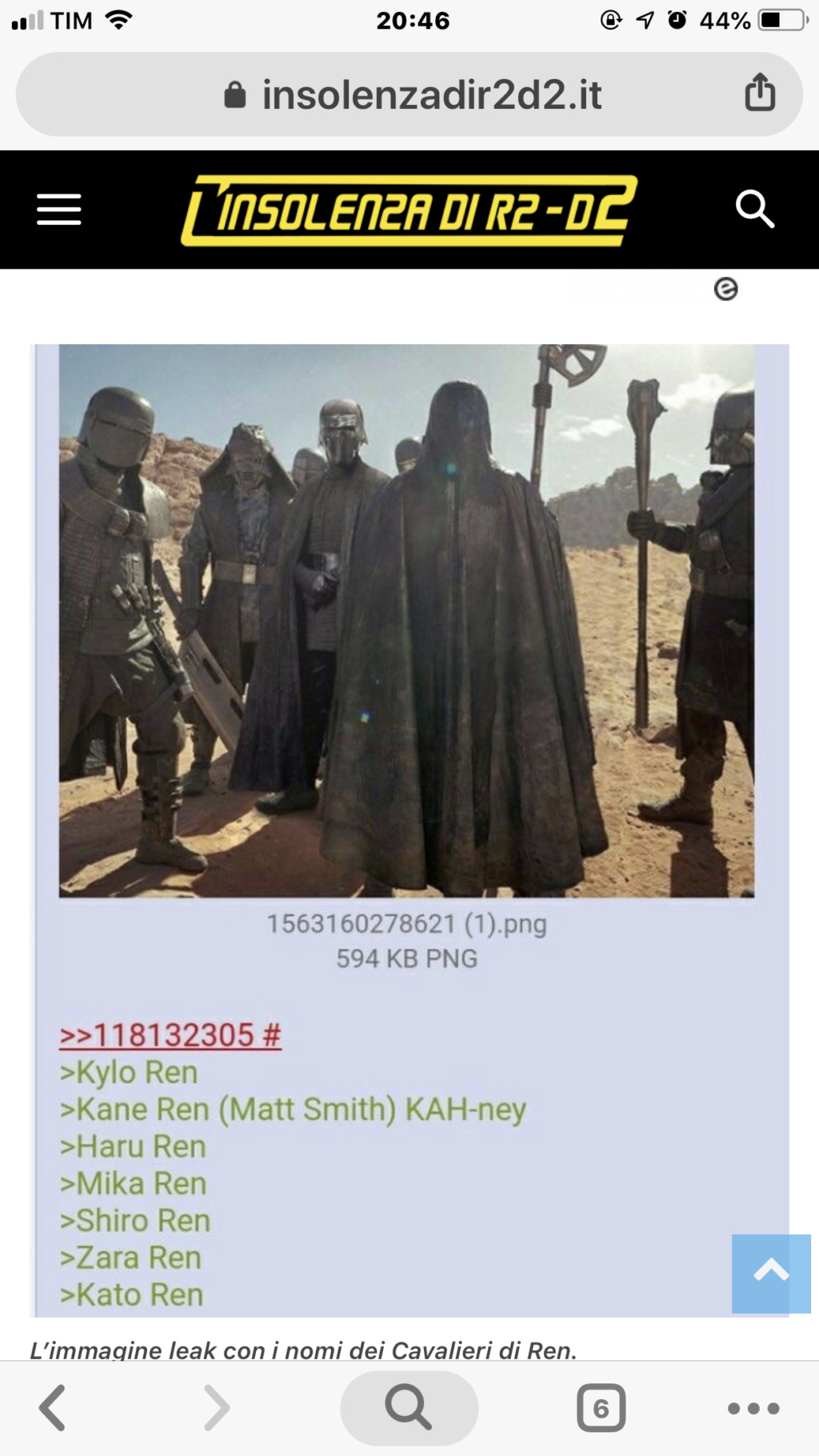 Episode IX: Spoilers and Rumors - Page 41 80b21510