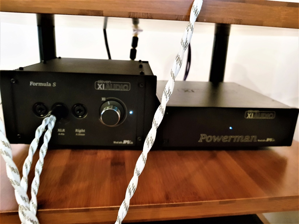 [VENDUTO] Amplificatore XI Audio Formula S + alimentazione separata Powerman 20180912