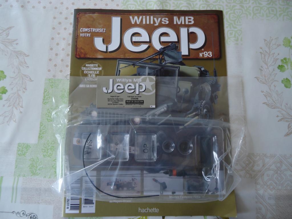 Jeep Willys - 1/8ème - Ed. Hachette - Construction par Glénans (Partie 2) - Page 2 Dsc00910
