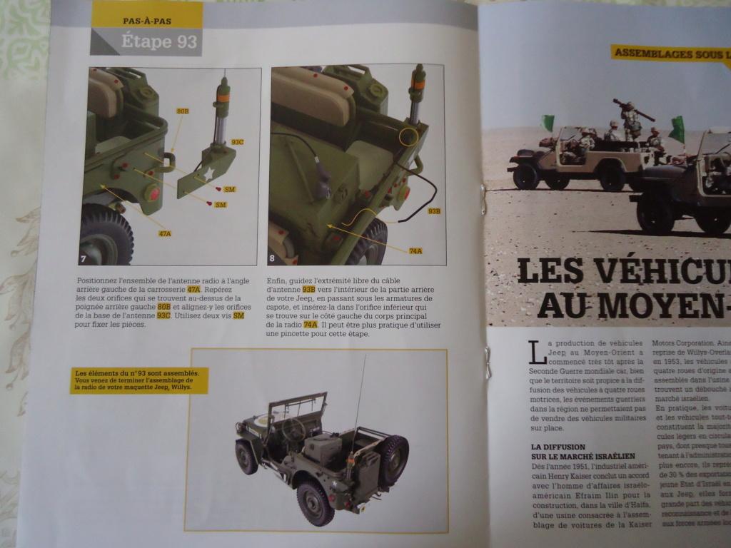 Jeep Willys - 1/8ème - Ed. Hachette - Construction par Glénans (Partie 2) - Page 2 Dsc00913