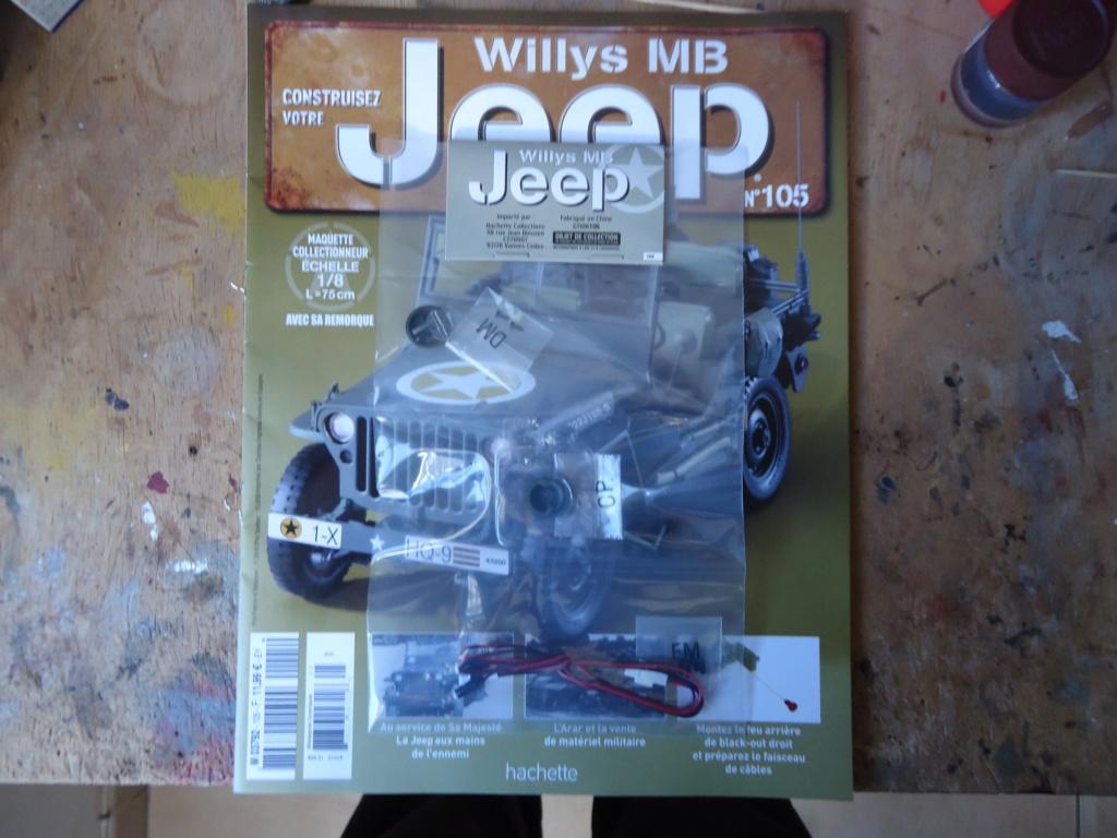Jeep Willys - 1/8ème - Ed. Hachette - Construction par Glénans (Partie 2) - Page 5 Dsc01010