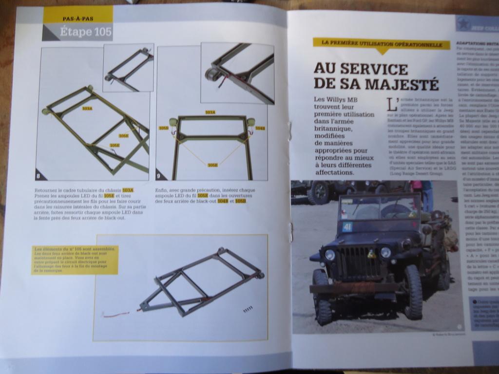 Jeep Willys - 1/8ème - Ed. Hachette - Construction par Glénans (Partie 2) - Page 5 Dsc01013