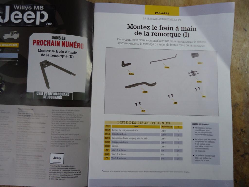 Jeep Willys - 1/8ème - Ed. Hachette - Construction par Glénans (Partie 2) - Page 6 Dsc01034