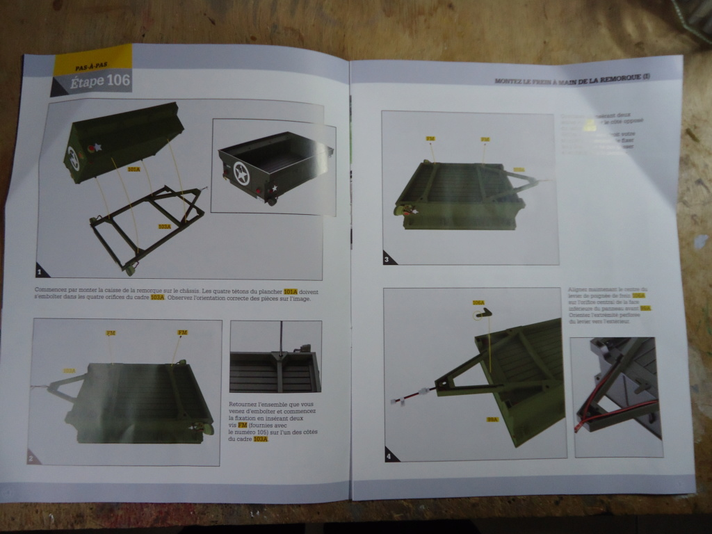 Jeep Willys - 1/8ème - Ed. Hachette - Construction par Glénans (Partie 2) - Page 6 Dsc01035