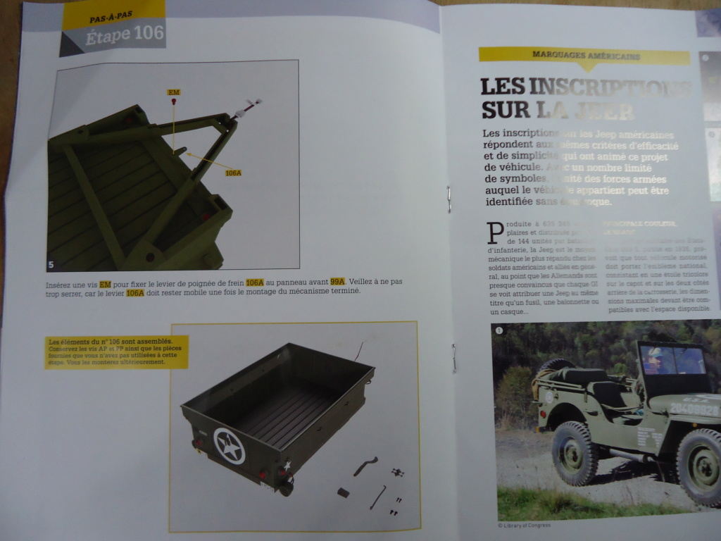 Jeep Willys - 1/8ème - Ed. Hachette - Construction par Glénans (Partie 2) - Page 6 Dsc01036