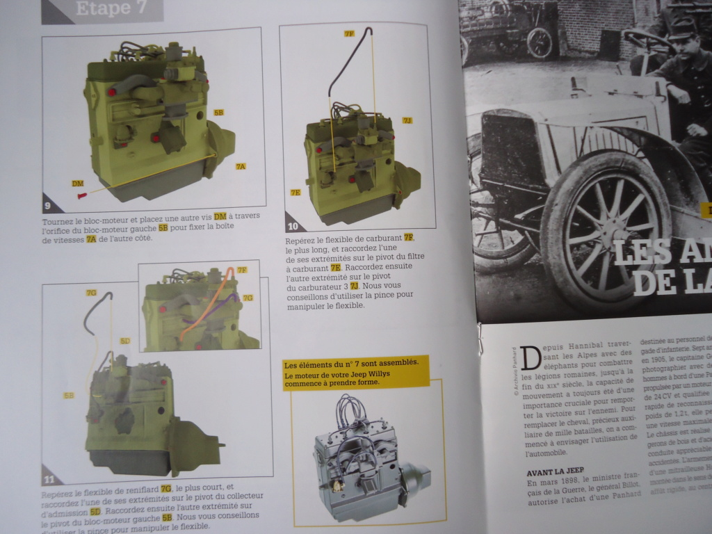 Jeep Willys MB au 1/8ème. Collection Hachette.Par Dan le Cévenol - Page 2 Dsc01062