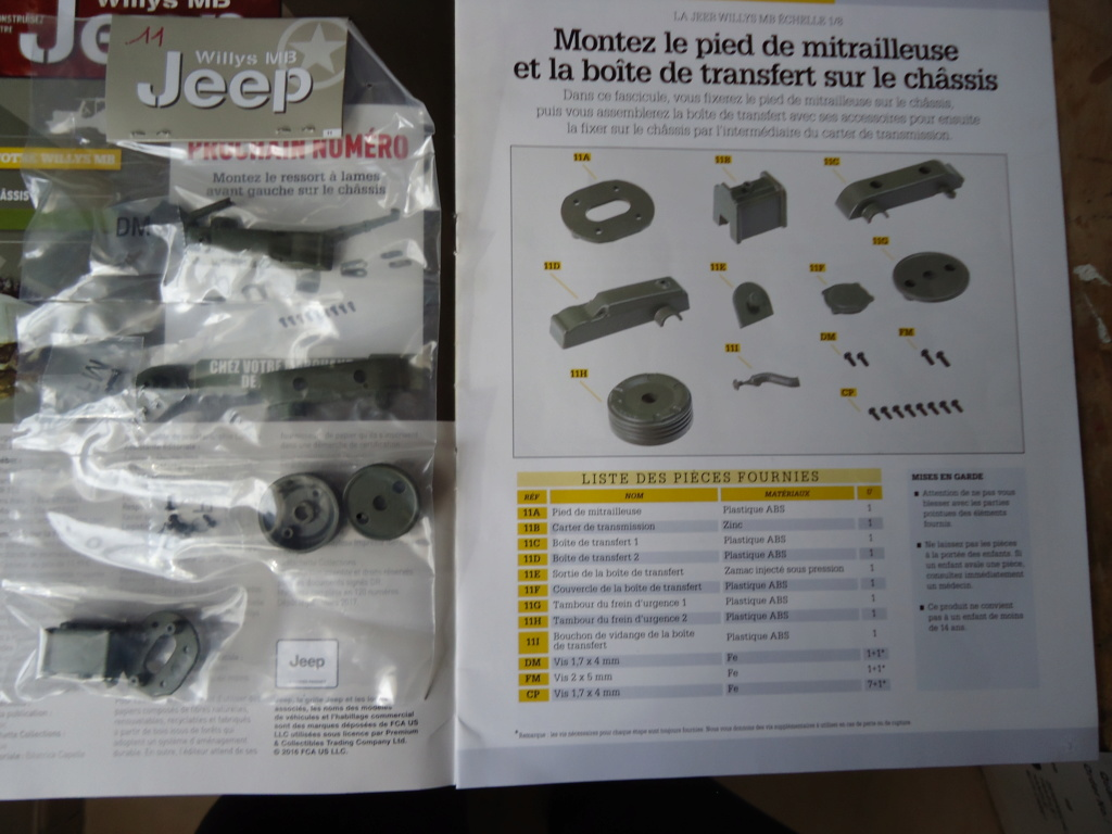 Jeep Willys MB au 1/8ème. Collection Hachette.Par Dan le Cévenol - Page 2 Dsc01071