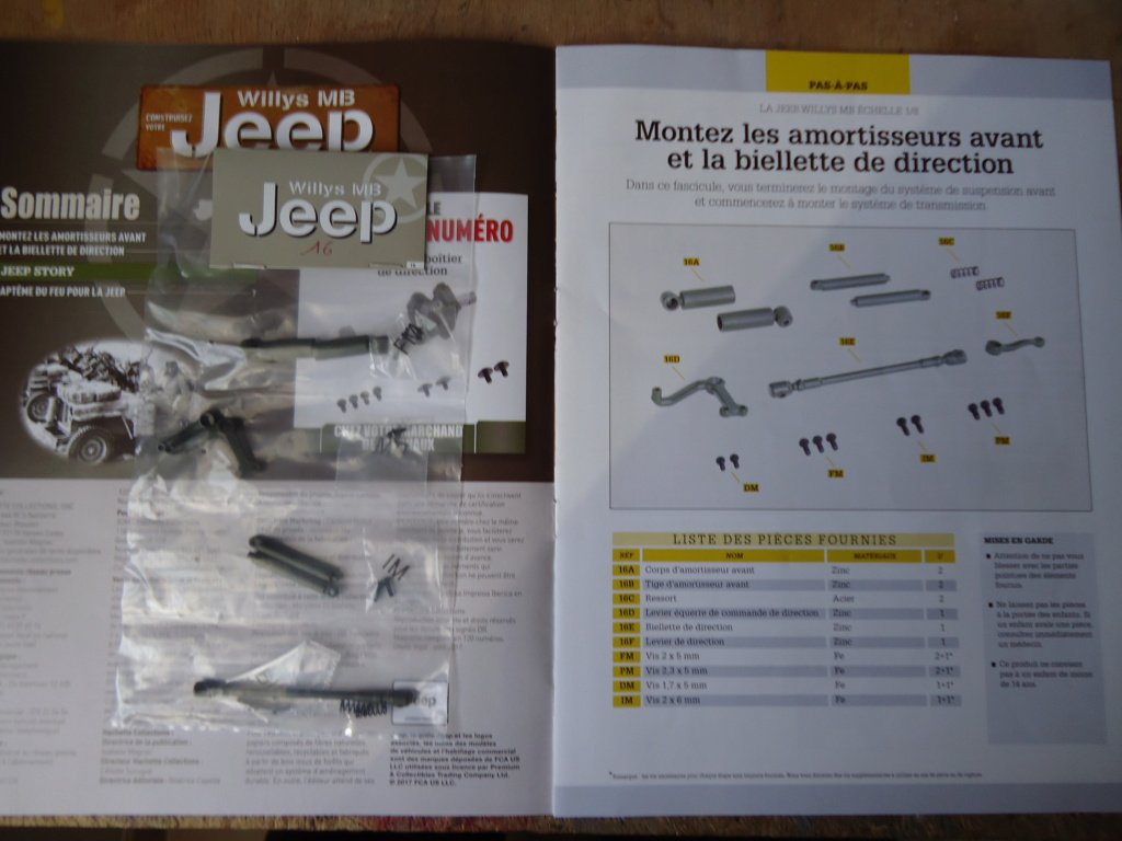 Jeep Willys MB au 1/8ème. Collection Hachette.Par Dan le Cévenol - Page 2 Dsc01085