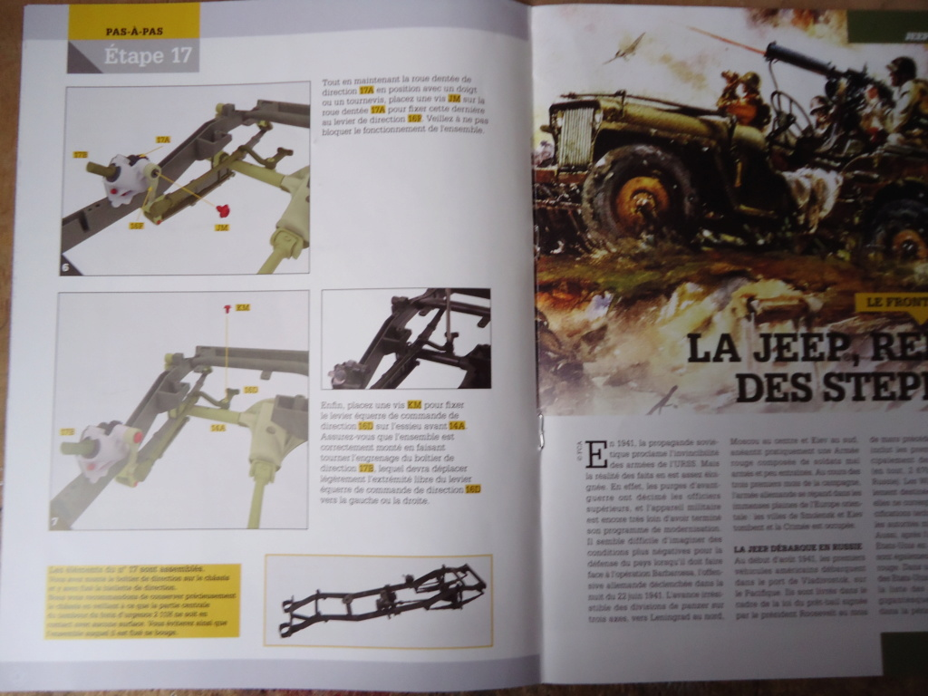 Jeep Willys MB au 1/8ème. Collection Hachette.Par Dan le Cévenol - Page 2 Dsc01089