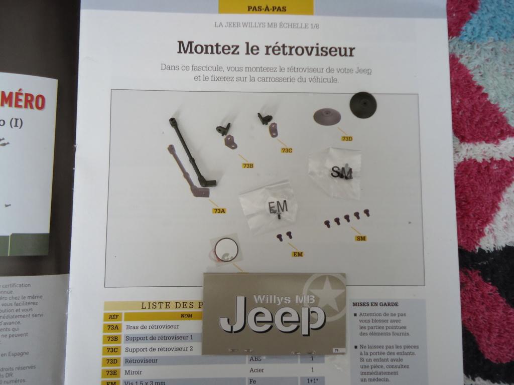 Jeep Willys MB au 1/8ème. Collection Hachette.Par Dan le Cévenol - Page 6 Dsc01100