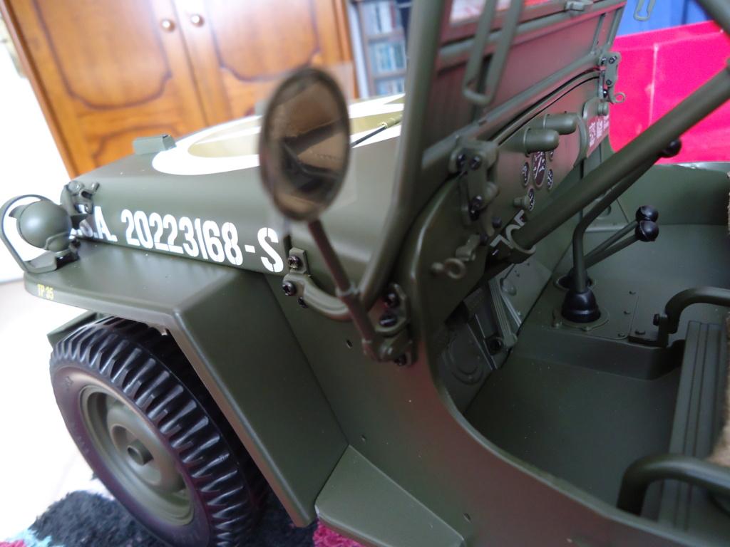 Jeep Willys MB au 1/8ème. Collection Hachette.Par Dan le Cévenol - Page 6 Dsc01103