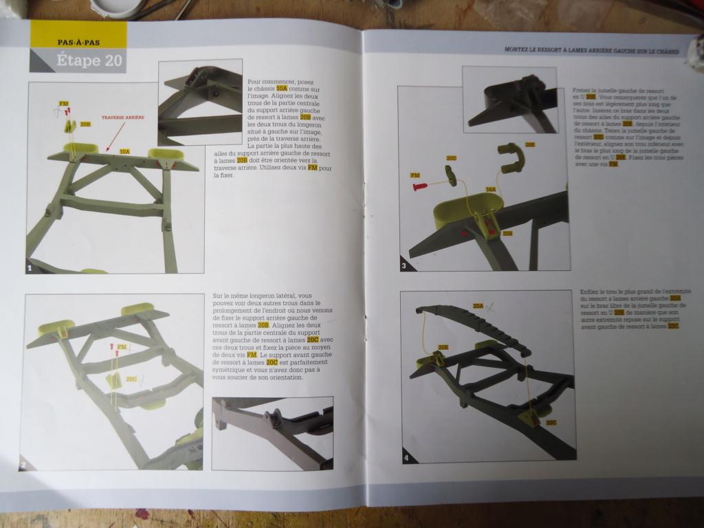 Jeep Willys MB au 1/8ème. Collection Hachette.Par Dan le Cévenol - Page 3 Dsc01153