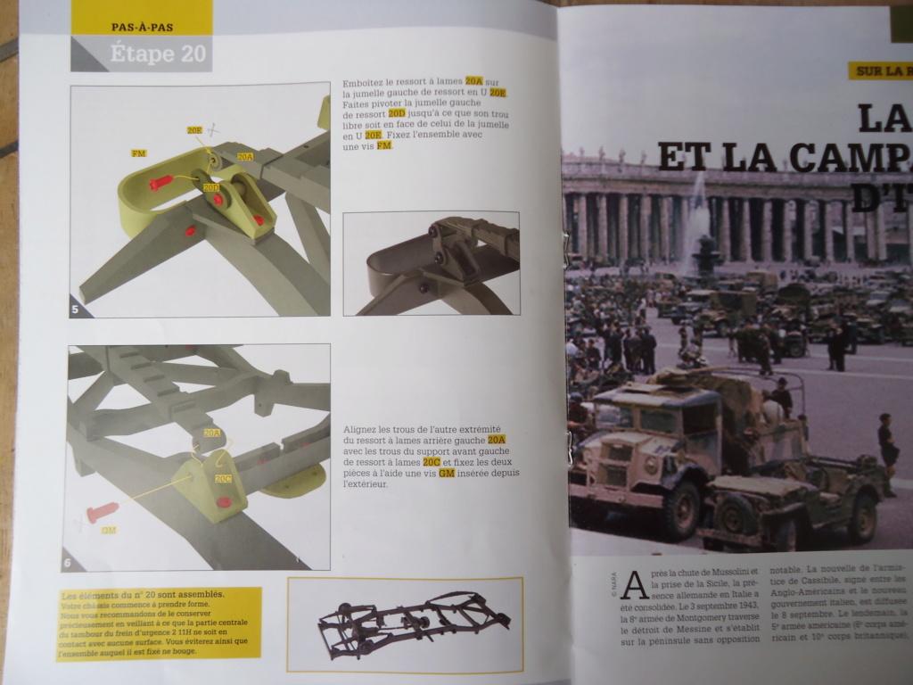 Jeep Willys MB au 1/8ème. Collection Hachette.Par Dan le Cévenol - Page 3 Dsc01154