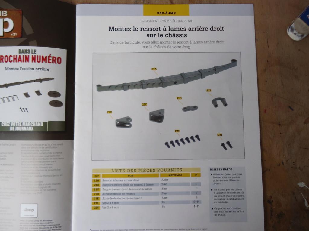 Jeep Willys MB au 1/8ème. Collection Hachette.Par Dan le Cévenol - Page 3 Dsc01155