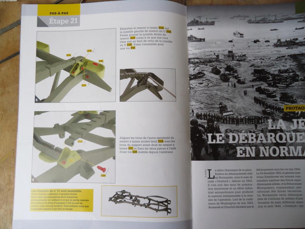 Jeep Willys MB au 1/8ème. Collection Hachette.Par Dan le Cévenol - Page 3 Dsc01156