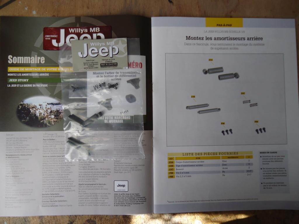 Jeep Willys MB au 1/8ème. Collection Hachette.Par Dan le Cévenol - Page 3 Dsc01163