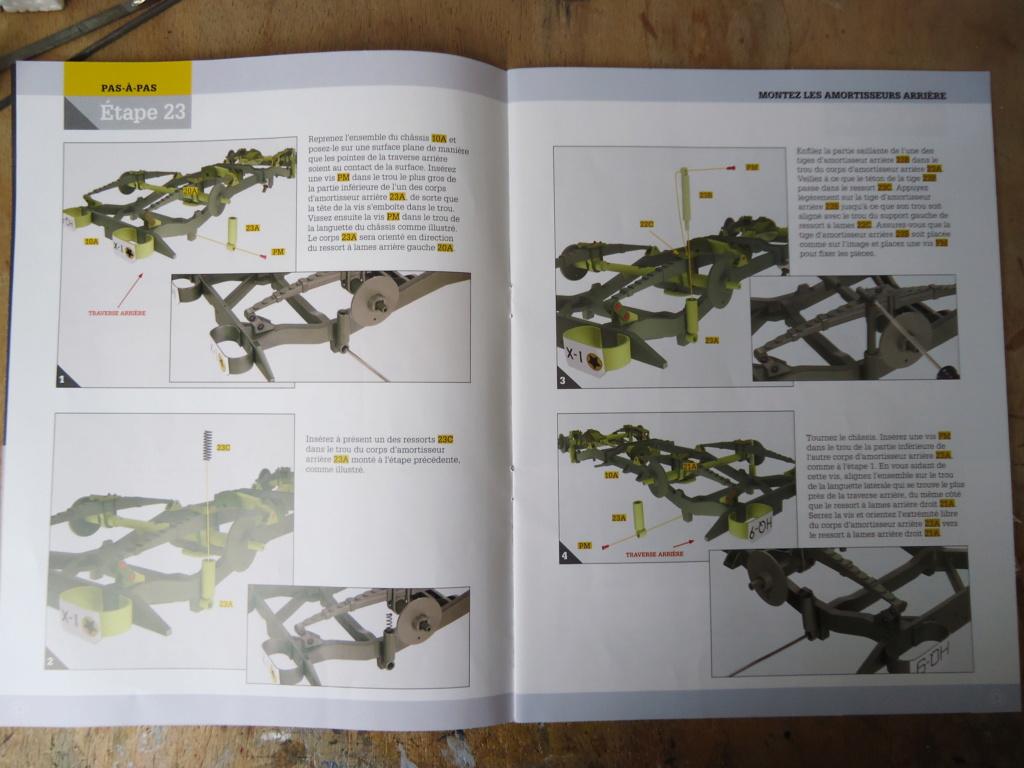 Jeep Willys MB au 1/8ème. Collection Hachette.Par Dan le Cévenol - Page 3 Dsc01164