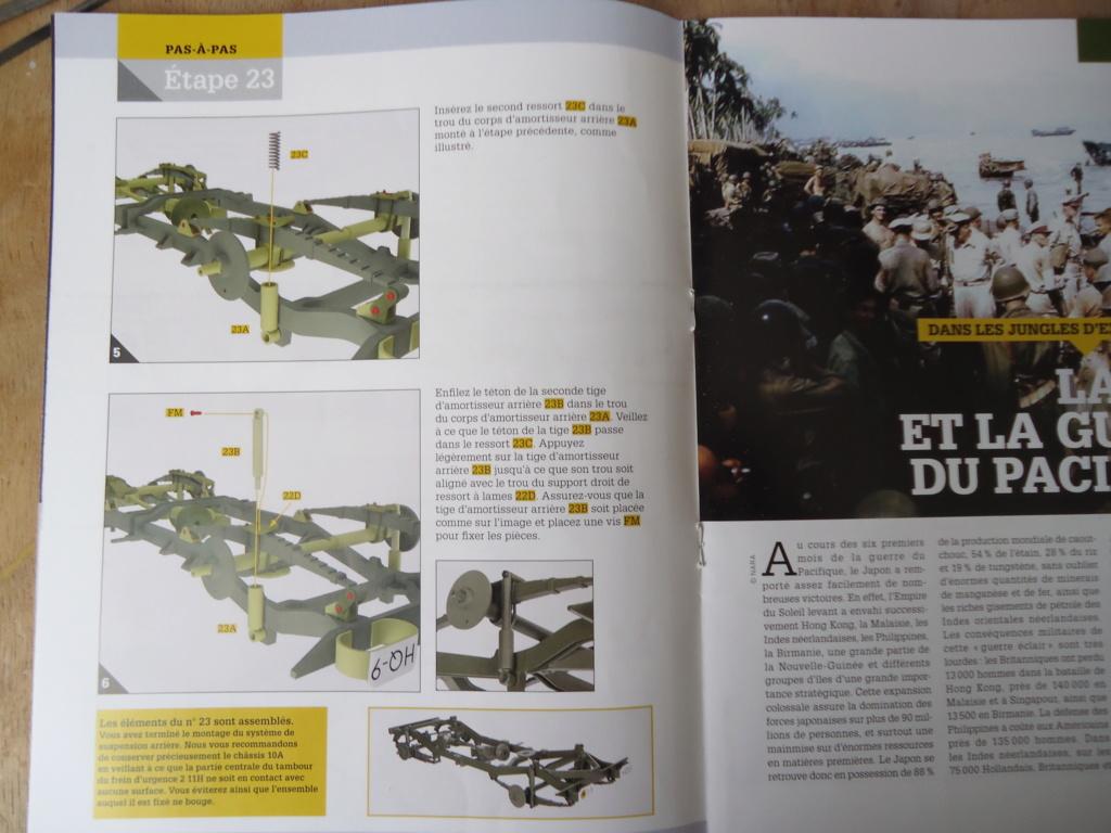 Jeep Willys MB au 1/8ème. Collection Hachette.Par Dan le Cévenol - Page 3 Dsc01165
