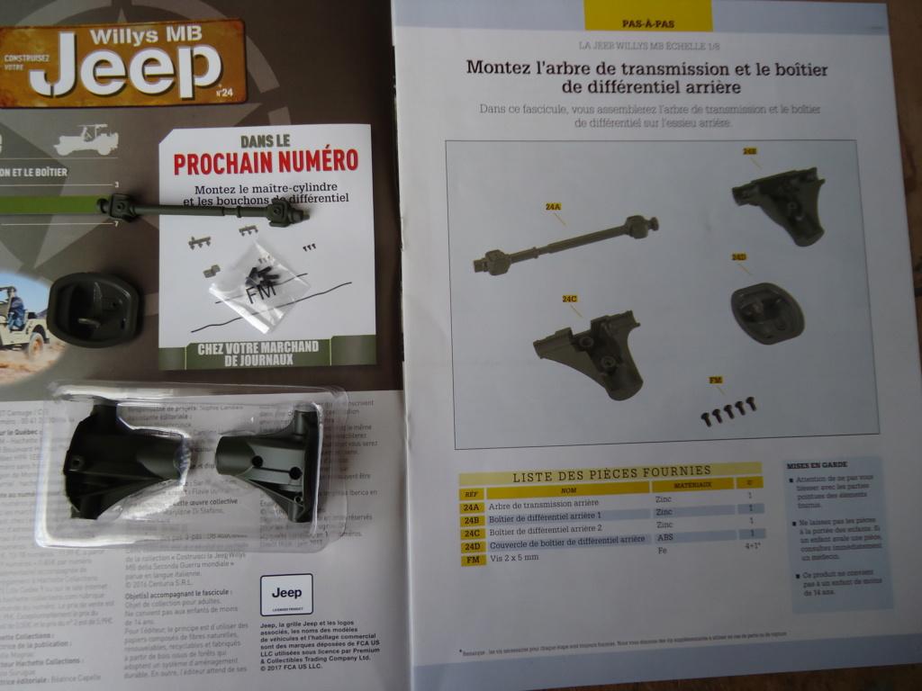 Jeep Willys MB au 1/8ème. Collection Hachette.Par Dan le Cévenol - Page 3 Dsc01166