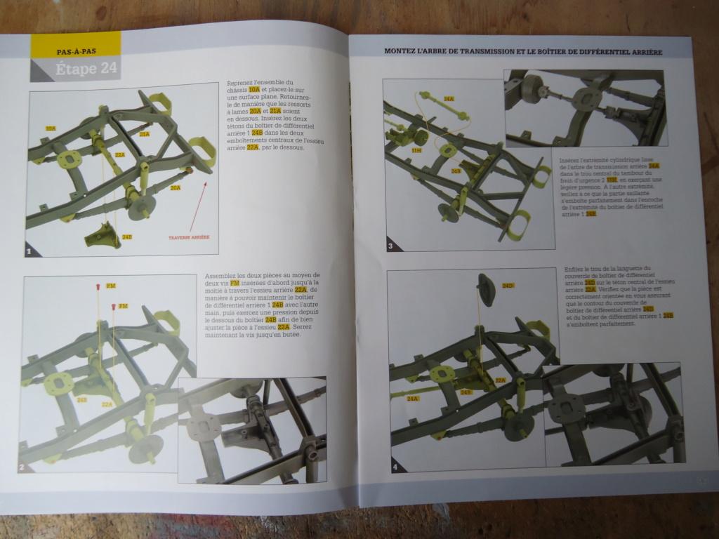 Jeep Willys MB au 1/8ème. Collection Hachette.Par Dan le Cévenol - Page 3 Dsc01167