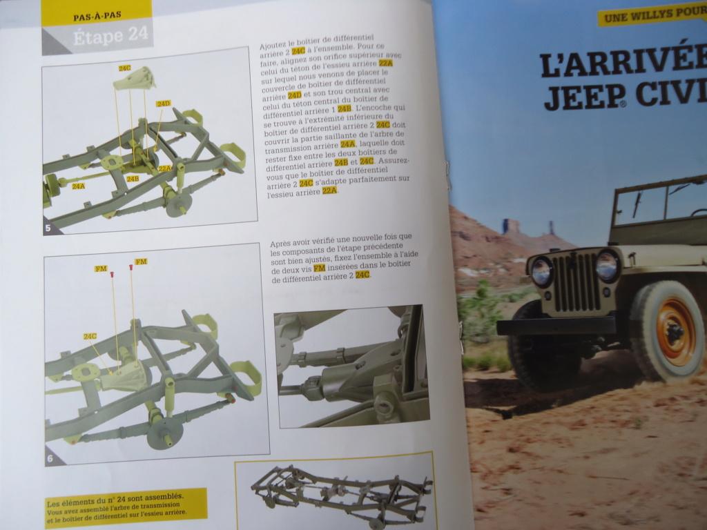 Jeep Willys MB au 1/8ème. Collection Hachette.Par Dan le Cévenol - Page 3 Dsc01168