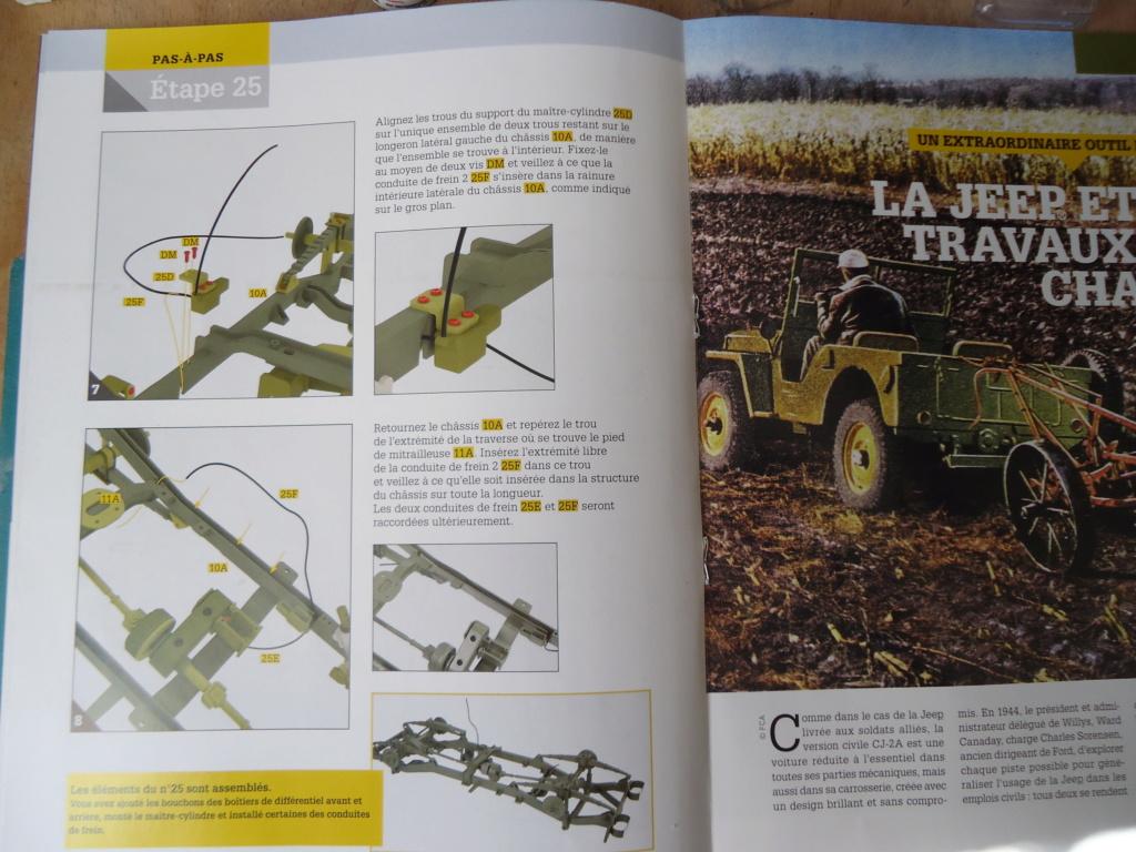 Jeep Willys MB au 1/8ème. Collection Hachette.Par Dan le Cévenol - Page 3 Dsc01233