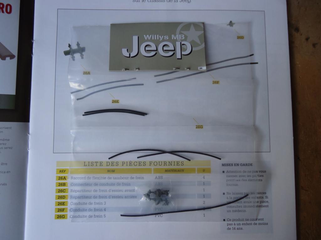 Jeep Willys MB au 1/8ème. Collection Hachette.Par Dan le Cévenol - Page 3 Dsc01237