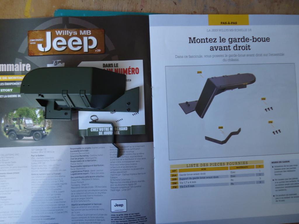 Jeep Willys MB au 1/8ème. Collection Hachette.Par Dan le Cévenol - Page 3 Dsc01247