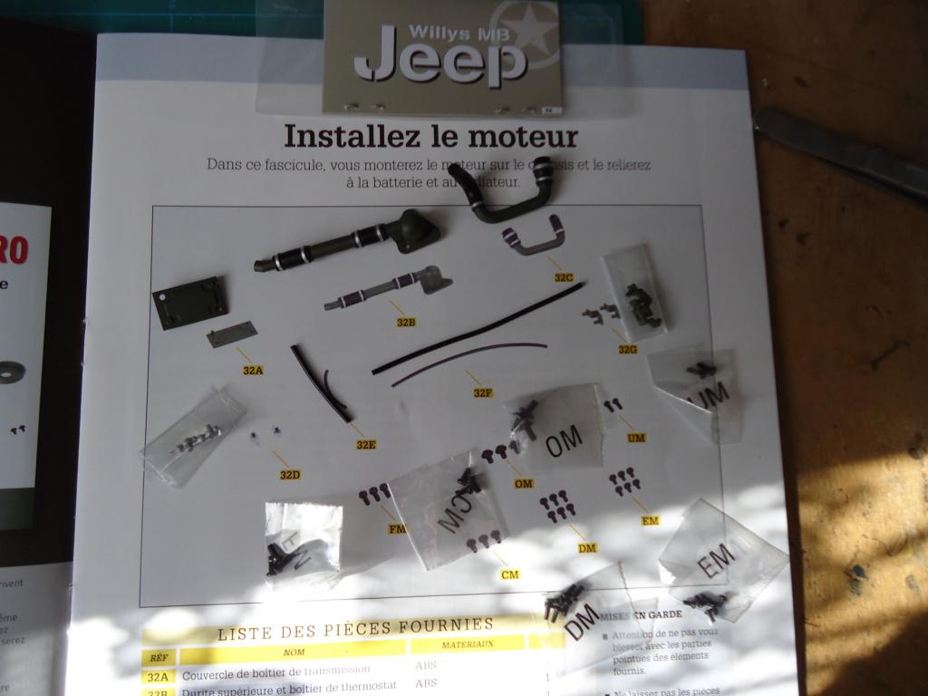 Jeep Willys MB au 1/8ème. Collection Hachette.Par Dan le Cévenol - Page 4 Dsc01257