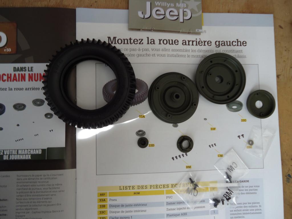 Jeep Willys MB au 1/8ème. Collection Hachette.Par Dan le Cévenol - Page 4 Dsc01259