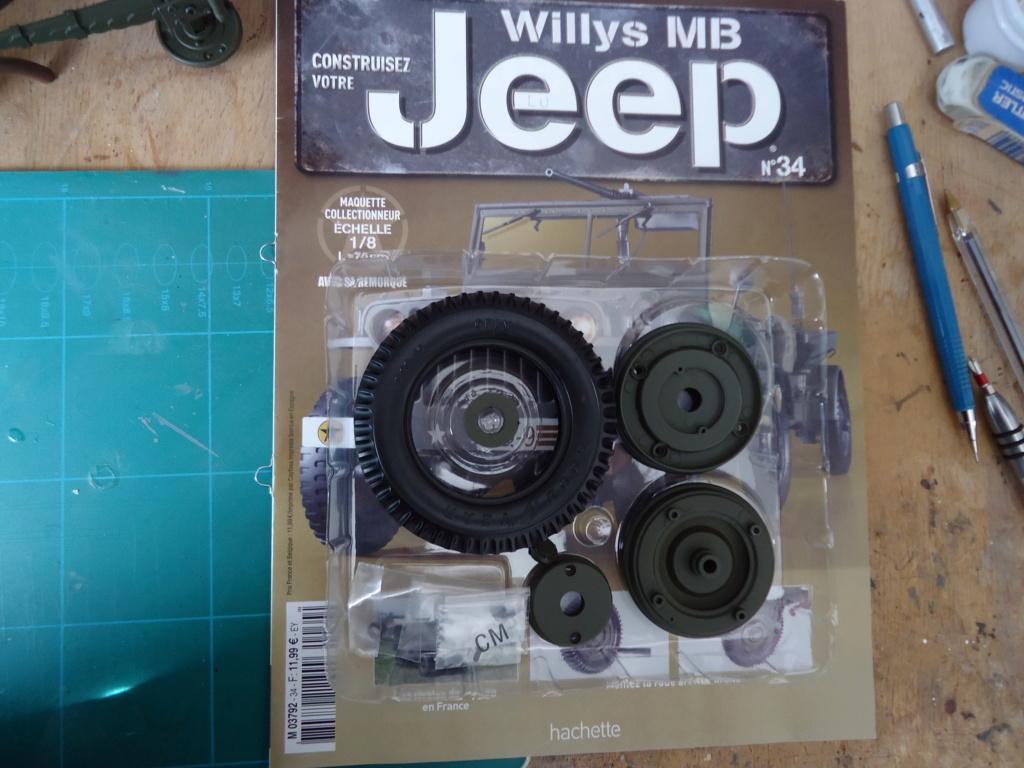 Jeep Willys MB au 1/8ème. Collection Hachette.Par Dan le Cévenol - Page 4 Dsc01261