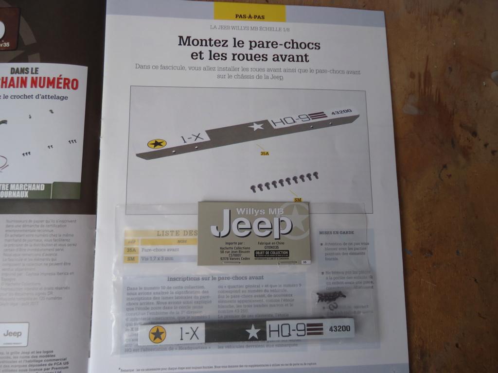 Jeep Willys MB au 1/8ème. Collection Hachette.Par Dan le Cévenol - Page 4 Dsc01263