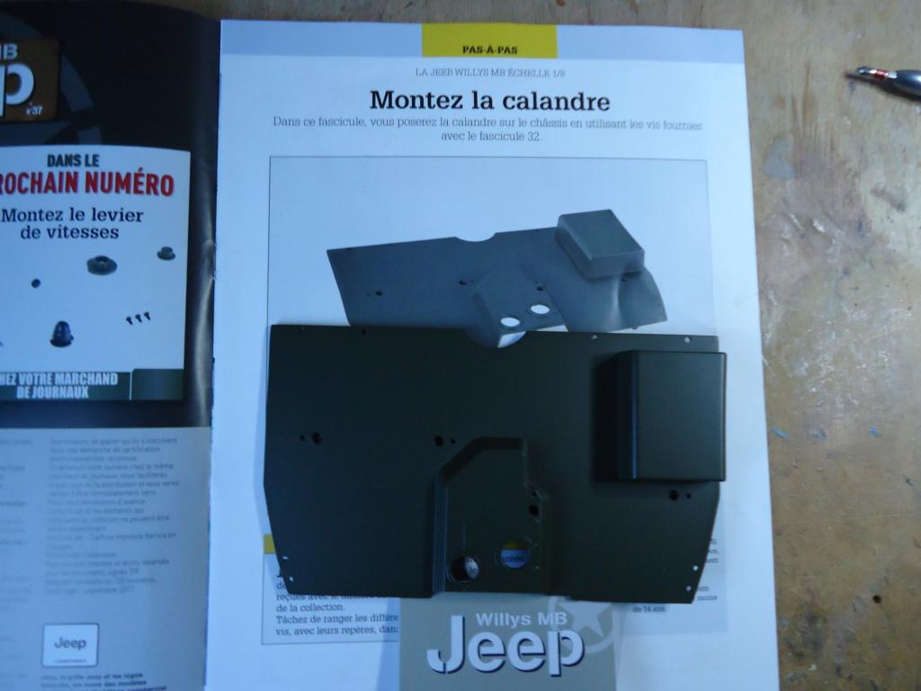 Jeep Willys MB au 1/8ème. Collection Hachette.Par Dan le Cévenol - Page 4 Dsc01269