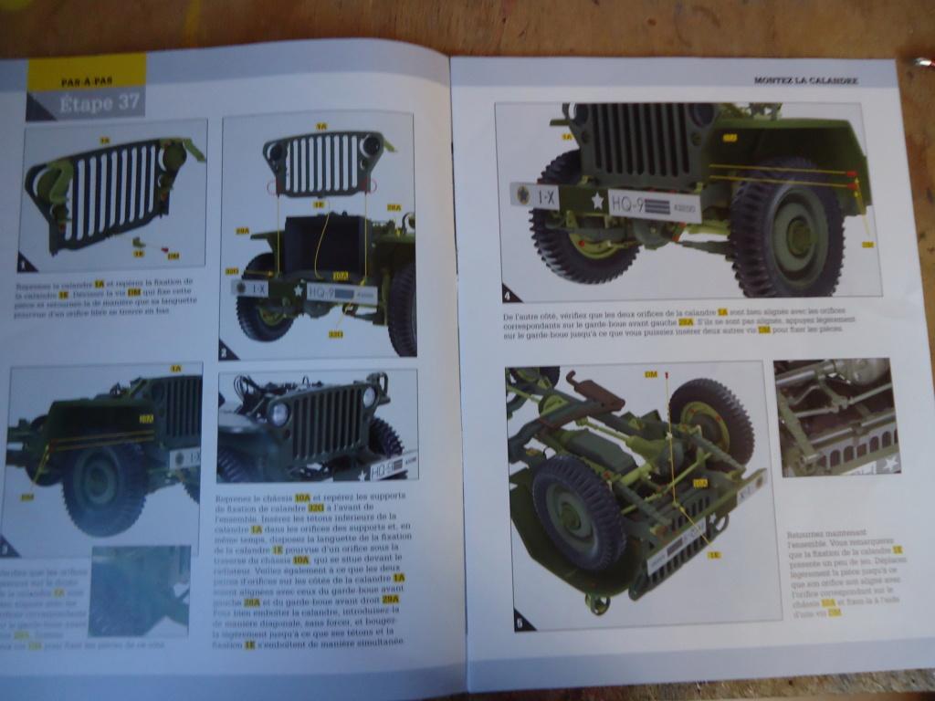 Jeep Willys MB au 1/8ème. Collection Hachette.Par Dan le Cévenol - Page 4 Dsc01270