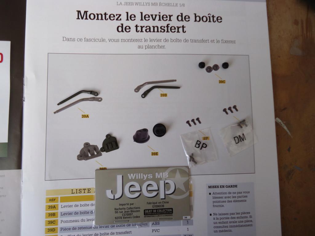 Jeep Willys MB au 1/8ème. Collection Hachette.Par Dan le Cévenol - Page 4 Dsc01275