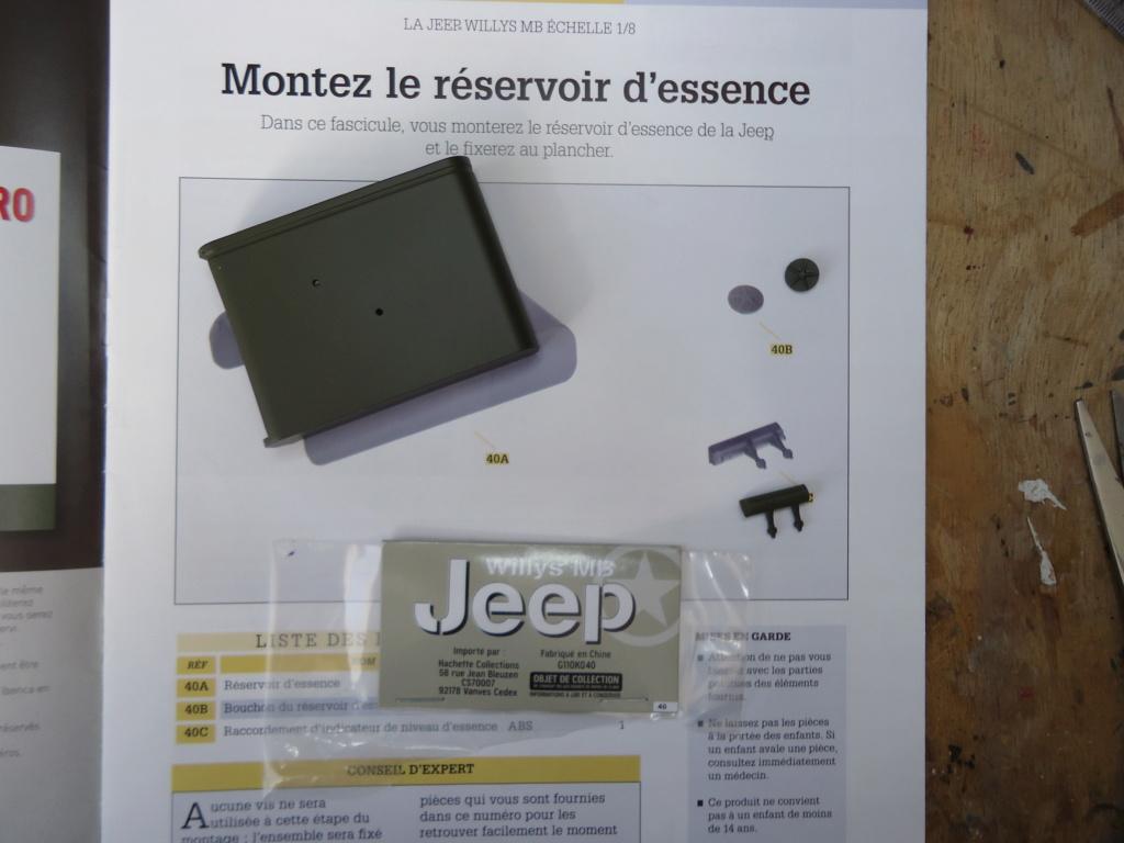 Jeep Willys MB au 1/8ème. Collection Hachette.Par Dan le Cévenol - Page 4 Dsc01277