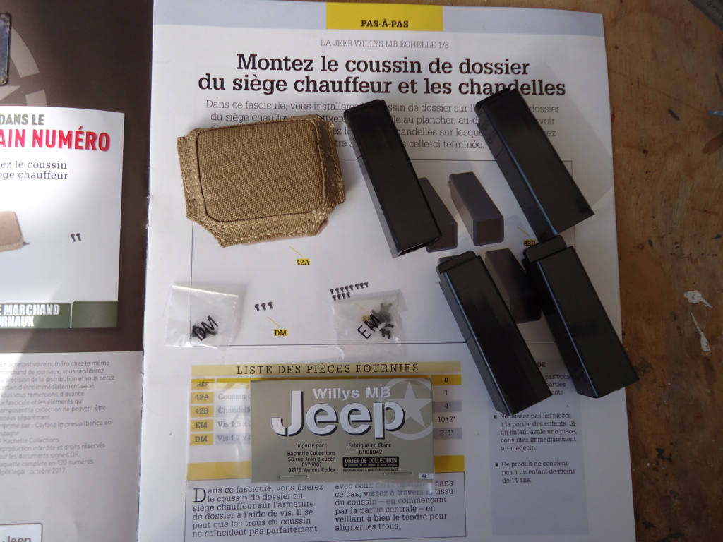 Jeep Willys MB au 1/8ème. Collection Hachette.Par Dan le Cévenol - Page 4 Dsc01281