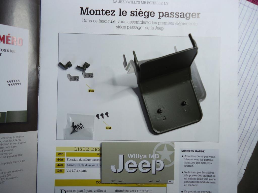 Jeep Willys MB au 1/8ème. Collection Hachette.Par Dan le Cévenol - Page 4 Dsc01284