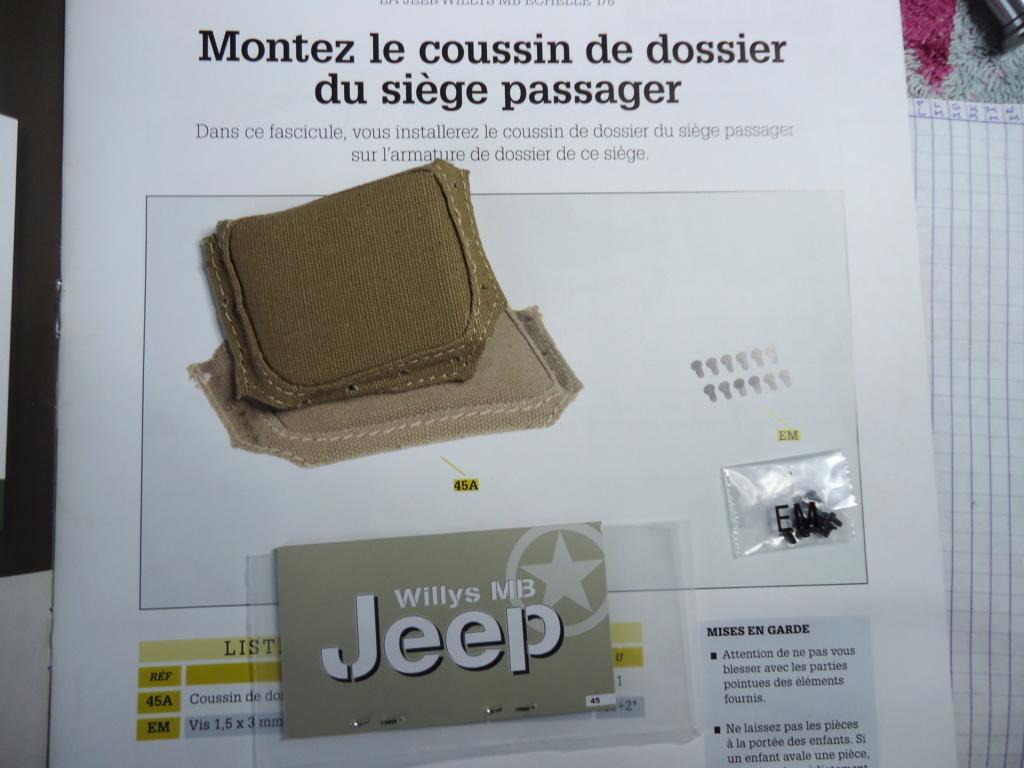 Jeep Willys MB au 1/8ème. Collection Hachette.Par Dan le Cévenol - Page 4 Dsc01286