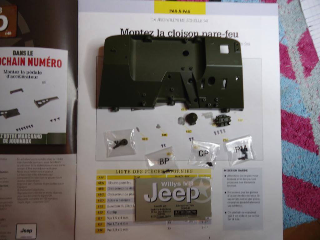 Jeep Willys MB au 1/8ème. Collection Hachette.Par Dan le Cévenol - Page 4 Dsc01290