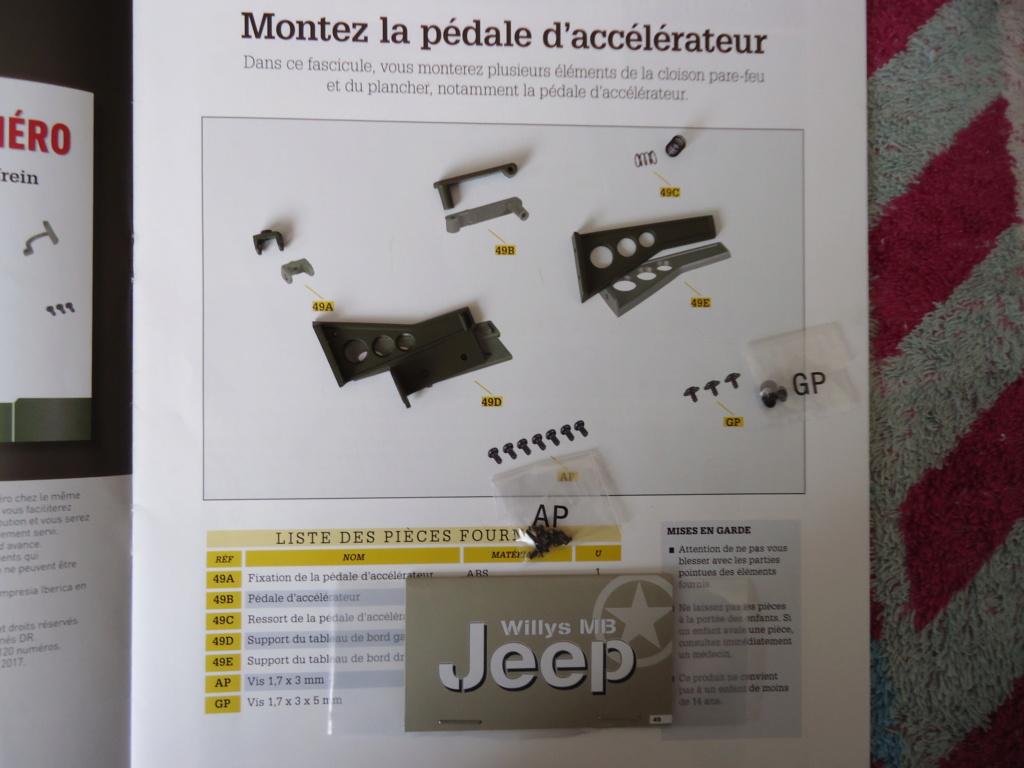 Jeep Willys MB au 1/8ème. Collection Hachette.Par Dan le Cévenol - Page 4 Dsc01319