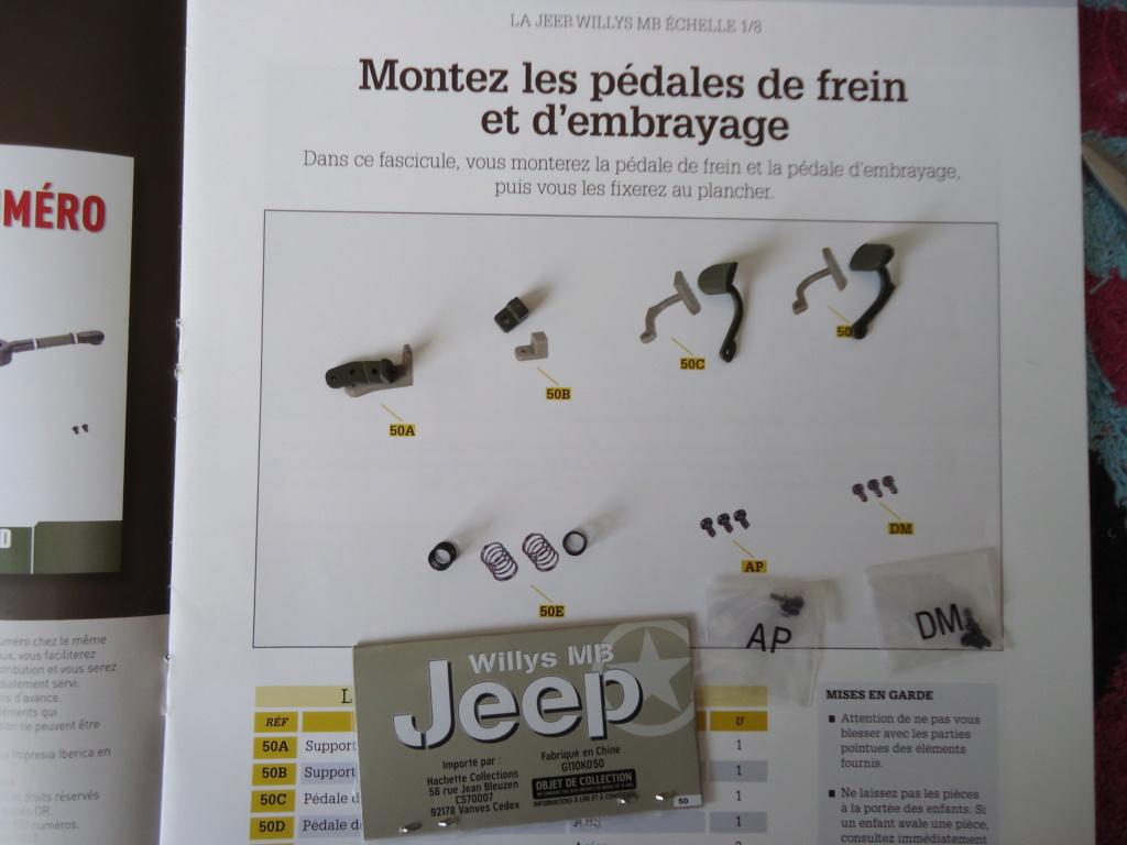 Jeep Willys MB au 1/8ème. Collection Hachette.Par Dan le Cévenol - Page 4 Dsc01321